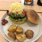 ソノラバーガー - 米沢牛100%ハンバーガー アボカドチーズ
