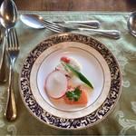 64567329 - 前菜・サーモンのマリネ & 鶏のパテ