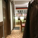 銀座ライオン - エレベータからの入口