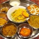 インド料理カバブハウス - レディースランチ。