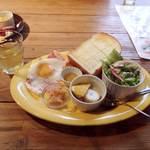 カフェ・クヌート - CAFE KNUT(えらべるトーストモーニング)
