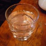 珈琲の店 Paris COFFEE - ☆お水グラスはこんな感じです(^v^)☆