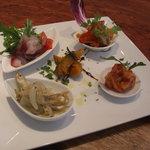 トラットリア・ノム - Pranzo-A (パスタを楽しむコース)の前菜盛り合わせ