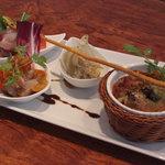 トラットリア・ノム - 料理写真:Pranzo-B (パスタとメインを楽しむコース)の前菜盛り合わせ