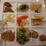 旬菜食健 ひな野 - 自然食ビッフェス ディナー