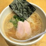 らーめん銀杏 - 濃厚鶏白湯(醤油)