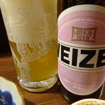 楽酒楽肴 越冬 - 箕面ビール(ヴァイツェン)