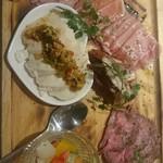 Tetsuo - 肉盛りプレート
