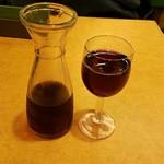 Saizeriya - フレッシュワイン(デキャンタ)250ml200円