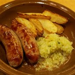 Saizeriya - 野菜ソースのグリルソーセージ399円