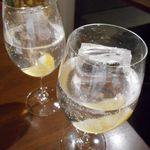 オステリアバルまるうめ - まるうめ特製 ハンサム!レモンサワー