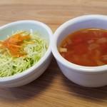 キャッチボール・ラジオ・サッポロ - サラダとスープです。