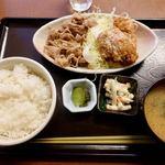野方食堂 - A定食 920円