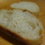 森の家庭料理レストラン - パンが旨い。