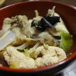 森の家庭料理レストラン - あんこう鍋