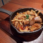 肉バルpippi - ホルモン(690円)