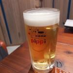 肉バルpippi - 生ビール