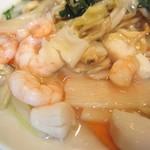 中華楼 - 海鮮炒麺 の具