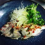 和sian-cafe aimaki - コース料理から、プラーヌンマナオ