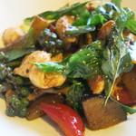 和sian-cafe aimaki - コース料理から、パッペッガイ