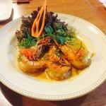 和sian-cafe aimaki - コース料理から、チューチークン
