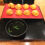 ぶぶ亭 - 明石焼 550円