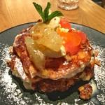 LATTE GRAPHIC - パンケーキ シトラスフルーツ