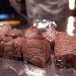 瑞兆 - 料理写真:ステーキ