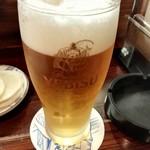 八十四番地 - 生ビール
