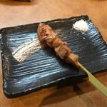 炭火焼き鳥 「聖」 - 肝の炙り焼き