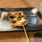 炭火焼き鳥 「聖」 - 鶏トロ炙り