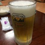 松屋 - 生ビール大