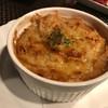 纏 - 料理写真:アッツアツのオニオングラタンスープ