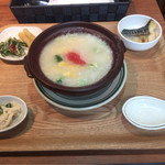 MARKET CAFE - ホテル朝食メニュー 明太子雑炊