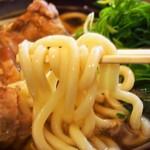 南海そば - 鶏なんばうどん(うどん)