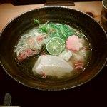 紀州麺処 誉 - 真鯛の塩ラーメン 950円