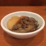 DUO - つきだし(肉じゃが)