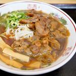 徳島ラーメン奥屋 - あっさり感もあり美味しいスープでした。