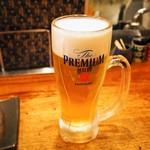わっちょい - 生ビールはプレモル