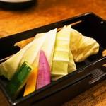 わっちょい - 付き出し(野菜)