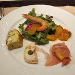 オステリア カッパ - 料理写真:Aコースの前菜