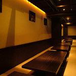 風雅 - ■団体様用 和 個室■ 広い掘りごたつ式の団体様専用個室席です!団体様でも御満足いただける和空間!