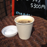 カフェ ド リュウバン - テイクアウトコーヒーS(税込100円)