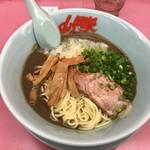 山岡家 - 料理写真:鬼煮干しラーメン:並盛