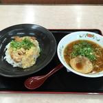 餃子の王将 - サービスランチ780→741円