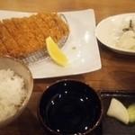 MORI-MESHI 小田原 - さがみあやせ豚のとんかつ御膳。
