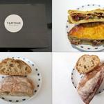 TARTINE - タルトは箱入り/野菜のタルト/丸パン/バゲット