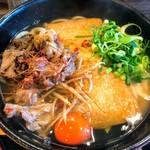 柔製麺 - 若干細めで程良いコシのうどん 出汁は節と昆布のバランスが良く好みの味