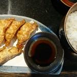 麺匠 貴涼楓 - 揚げ餃子♪