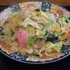 菜の花 - 料理写真:皿うどんあんかけ細麺@650